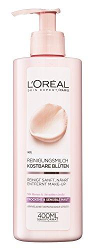 Leche limpiadora L'Oréal Paris de flores, (400 ml)