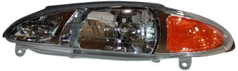 TYC 20-3596-00 Compatible with Ford/Mercury Driver Side Headlight Assembly