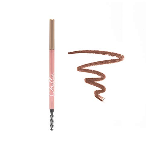 Chella Eyebrow Pencil, Tantalizing Taupe - Vegan, Gluten Free, Cruelty Free, Paraben Free, - Long Wearing, Smooth Consistency