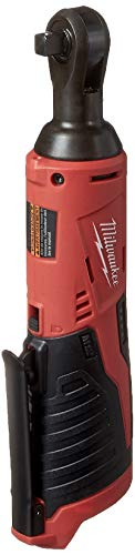 Milwaukee 2457-20 M12 Cordless 3/8' Sub-Compact 35 ft-Lbs 250 RPM Ratchet w/ Variable Speed Trigger (Battery Not Included, Power Tool Only)