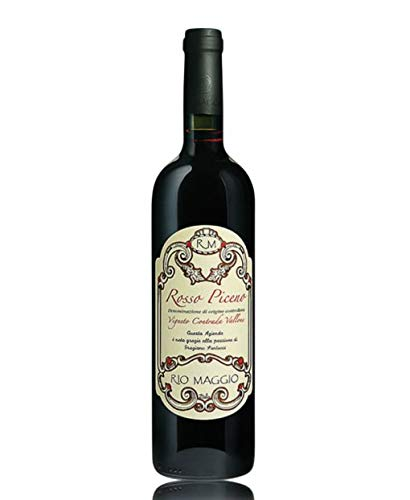 Rosso Piceno DOC Vigneto Contrada Vallone 2015  Rio Maggio - Cassa da 3 bottiglie