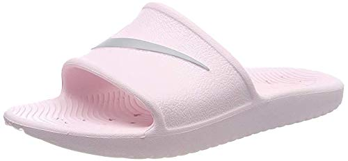 Nike Wmns Kawa Shower - Zapatos de Playa y Piscina para Mujer, Rosa (Arctic Pink/Atmosphere Grey 601) 39 EU