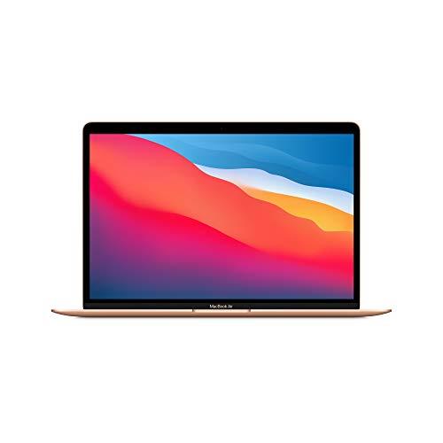 最新 Apple MacBook Air Apple M1 Chip (13インチPro, 8GB RAM, 512GB SSD) - ゴールド