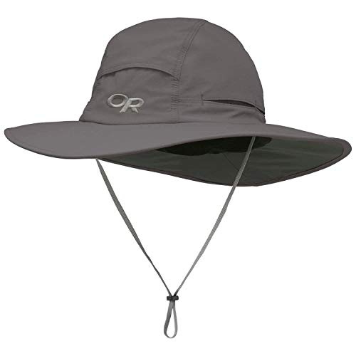 Outdoor Research Unisex Sombriolet Sun Hat, Pewter, X-Large