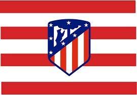Atletico Madrid Bandera oficial de 150 x 100 cm.