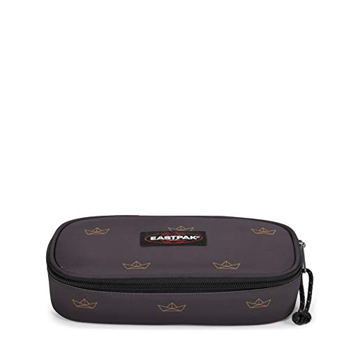 Eastpak OVAL SINGLE Astuccio, 22 cm, Grigio (Minigami Boats)