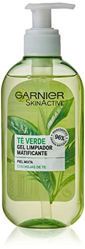 Garnier Skin Active Gel Limpiador con Hoja de Té Verde - 200 ml