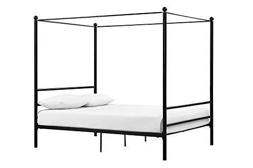 canopy bed with storage