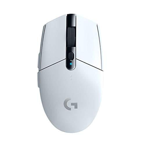 Logicool G ゲーミングマウス ワイヤレス G304rWH ホワイト LIGHTSPEED 無線 99g 軽量 ゲームマウス HEROセ...