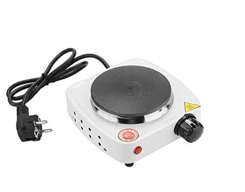 Tempo di Saldi Mini réchaud électrique 500W réglable avec plaque en...