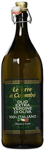 Le Terre di Colombo - Olio Extravergine d'oliva 100% Italiano - 2 Litri