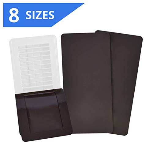 SEAL360 Magnetic Vent Covers (3-Pack), Pockets for Complete Seal, 7.5' X 12' for Floor, Wall, or Ceiling Vents and Air Registers, for RV, Home HVAC, AC and Furnace Vents, Vent Not Included