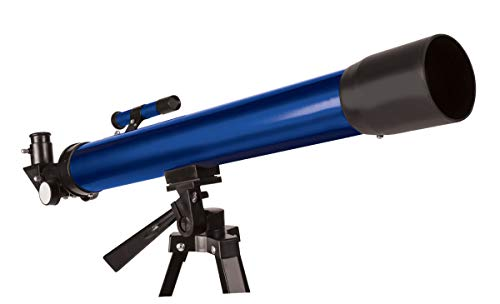 Kids Tech VA90032 Augmented Reality Star Gazer Telescope Kit, Includes 10 AR Cards & Adjustable Tripod, Multiple Magnification, Built in Finder Lens, Stars in Real Time and Ar, Blue
