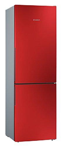 BOSCH Frigorifero con congelatore KGV36VR32S Classe A++ argento/rosso