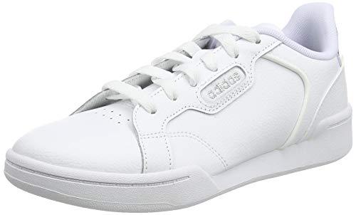 Adidas Roguera U, Scarpe da Ginnastica Unisex-Adulto, Ftwr White/Ftwr White/Silver Met, 38 EU