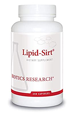 ** SUPPORTS HEALTHY CHOLESTEROL LEVELS: Specific nutrients in Lipid-Sirt modify the production of cholesterol in the liver and excretion via the bile to support overall healthy cholesterol levels. ** STRONG ANTIOXIDANT: Lipid-Sirt contains Phytolens,...