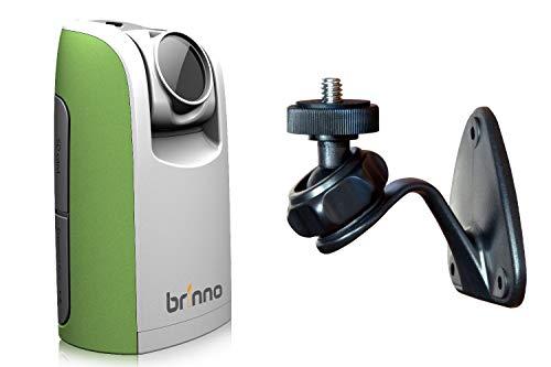 Brinno TLC200 Time Lapse Camera, Cronofotografia, Display LCD 1.44', Risoluzione Video 1280 x 720 con Supporto da Parete