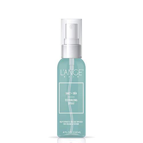 L'ange Hair Sea Salt Spray for Hair | Natural Salt and Sa Hair Texturizing Spray to Help Improve Volume | Seasalt Texture Hairspray for Bouncy Beachy Waves & Windswept Look | Volumizing Hair Products