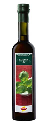 Wiberg Basilikum-Öl nativ extra 500ml Olivenöl