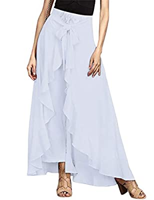 ✪The new flowy fit ties at the top waist for a casual vibe are festival worthy in this flattering fit! purchase. And we support return and exchang to choose the size suitable for you. Please kindly understand, thanks ✪Features: Elastic waist, Tie fro...