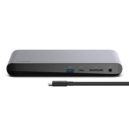 ベルキン ドッキングステーション USBハブ Thunderbolt3 Macbook Pro/Air iPad Pro 2020 対応Thunderbolt3 ...