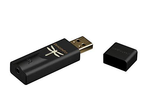 Audioquest Dragonfly tragbarer D/A-Konverter, schwarz