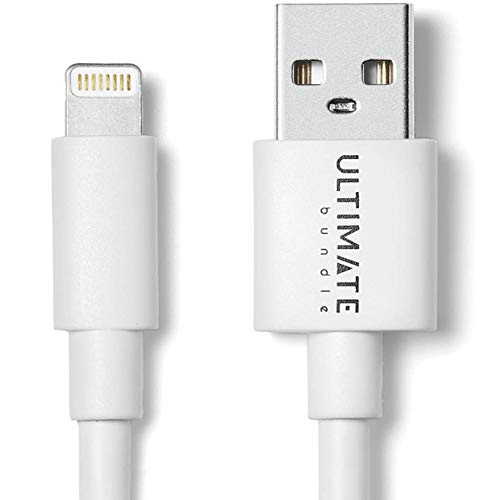Ultimate 10ft Lightning Cable, Apple MFi Certified, iPhone Charger Cable 10 Foot, USB Cord Compatible with iPhone 11 Pro Max XS XR X 8 7 6S 6 Plus SE iPad Airpods