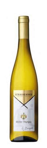 Confezione da 6 Bottiglie Vino Bianco Mller Thurgau Valle Isarco Azienda Agricola Strasserhof -cz