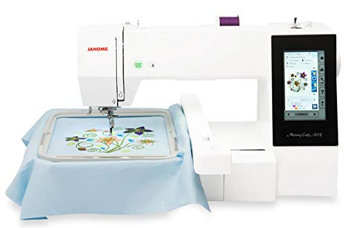 Product Image 1: Janome Memory Craft 500E Embroidery Machine