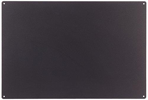 KalaMitica Lavagna Magnetica, in Acciaio scrivibile con gessetti, Nero (Antracite) 56 x 38 x 0,12 cm