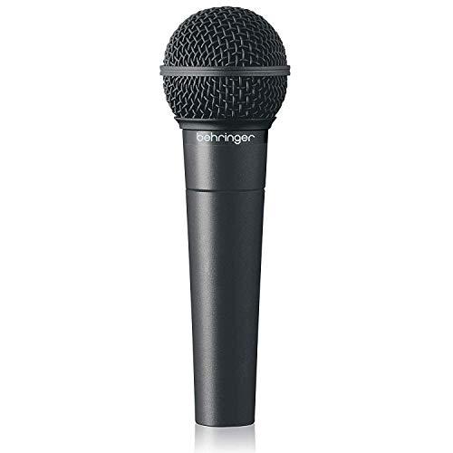 Behringer Ultravoice Xm8500 - Micrófono (Etapa/Rendimiento, 50 - 15000 Hz, Negro, Plata)