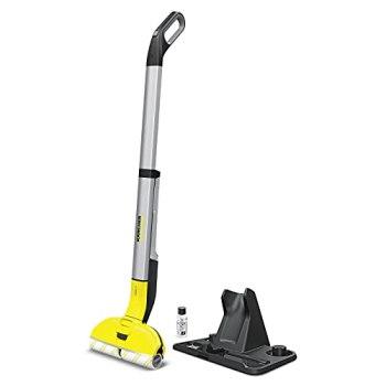Kärcher FC 3 sans fil - Nettoyeur de sol pour sols durs - Léger et maniable, nettoyage sans effort, sans frotter - 20 min d'autonomie soit 60 m² de sol nettoyé par charge