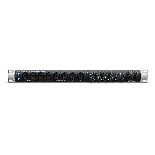 PreSonus Quantum 2626 26x26 Thunderbolt 3 Audio Interface, 26x26-8 Mic Pres