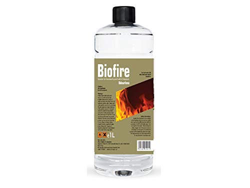 Premium BIOETHANOL Fuel for Fires, Bio Ethanol Liquid Fuel for bioethanol Fires (1 Litre)
