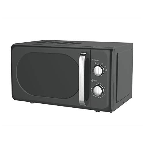 Kooper Vintage Forno Microonde Elettrico 22lt Nero 700w 20 l 700 W, 20 Litri, Acciaio