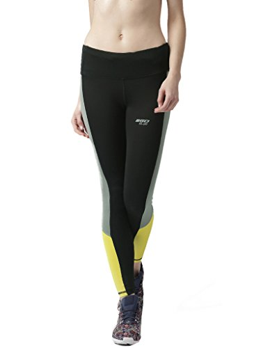 2GO Polyester Stretchable Active Yoga Sports Gym Running Training Zumba Tights for Women