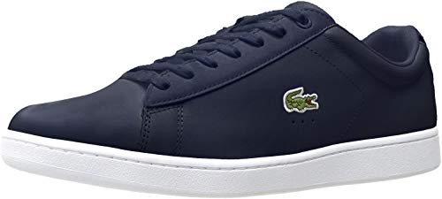 Lacoste mens Carnaby Evo Bl 1 Sneaker, Navy, 10.5 US