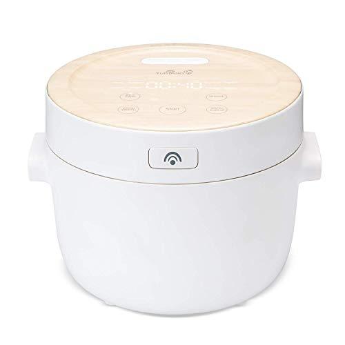 Yum Asia Fuji Cuiseur à riz avec chauffage par induction (IH) et bol en céramique Shinsei (4 tasses, 0,7 litre) 5 fonctions de cuisson du riz, 4 fonctions multicuiseur, écran LED caché, 220-240V UK/EU