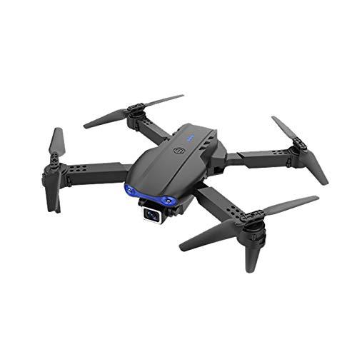 DAIJIA Droni Pieghevoli con videocamera HD 720P per Adulti, Mini-Drone 4K HD Dual Camera WiFi FPV Smart Selfie RC Elicottero Pieghevole UAV (a-01)