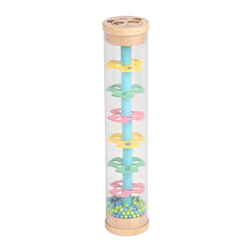 YIPUTONG Rainmaker Toy, Rain Stick Rain Rattle Tube Shaker Giocattolo Musicale Rain Stick Baby Strumento educativo Giocattolo per Neonati e Bambini Piccoli