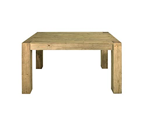 Fashion Commerce FC855 Tavolo Allungabile, Legno, Naturale, 160x90 cm