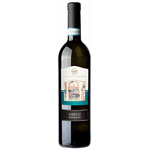 Vino Greco Sannio D.O.P. bianco -Cantina di Solopaca - Cartone da 6 Pezzi