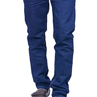 Cartridges Men's Regular Fit 5 Pocket Denim Jeans