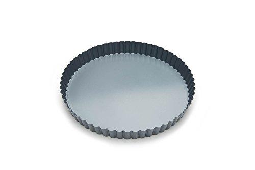 Fox Run 44513 Removable Bottom Non-Stick Tart and Quiche Pan, 9-Inch Diameter,Loose Bottom Quiche Pan - 9-inch