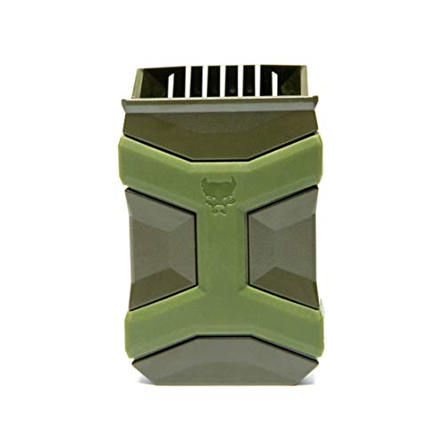 Universal Mag Carrier Gen 2, Single or Double Stack Mag Pouch, OWB or IWB Mag Holster, Ambidextrous, Mag Pouch for Belt, Fits Glock Sig Taurus S&W M&P Beretta Browning and More (OD Green)