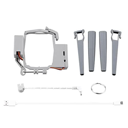 unknows Kit di Lancio, Compatibile con Mavic Air 2S Drone per Esche da Pesca Regalo di Nozze Consegnare la Vita Rescue Drone Thrower Kit Antenna Launcher Device Drone Aerial Clip Air Drop Payload