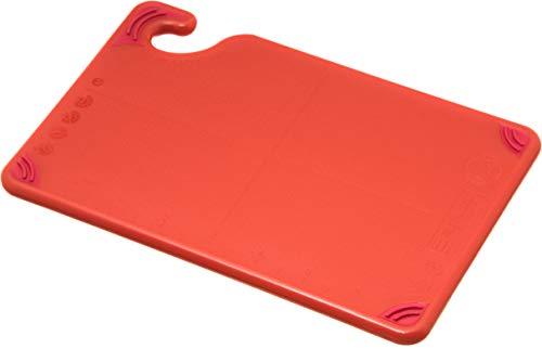 San Jamar CBG6938 Saf-T-Grip Co-Polymer Bar Board, 9' Length x 6' Width x 3/8' Thick, Red