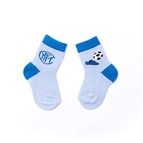 Inter GIL Infant Collection 2020 Boys Calzino, Bimbo, azzurro, 3-6 mesi