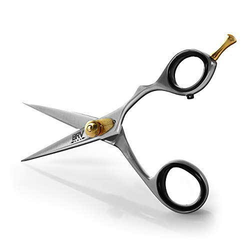 Facial Hair Scissors for Men - Mustache and Beard...