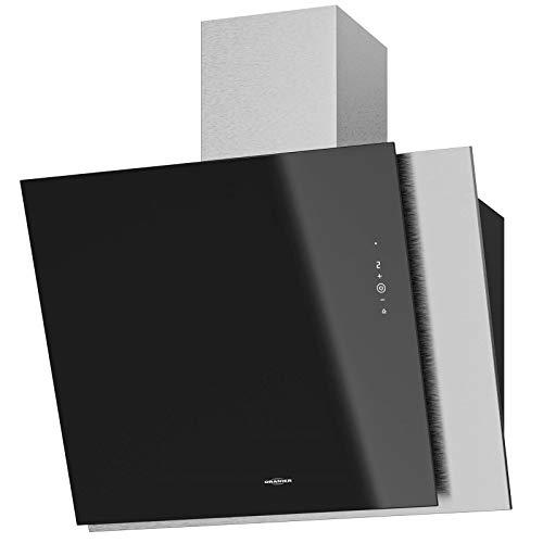 Oranier - Cappa aspirante da parete larga, senza testa, 75 cm, colore: Nero
